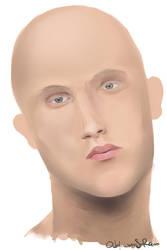 Random Bald Man by Oblivious-Rain