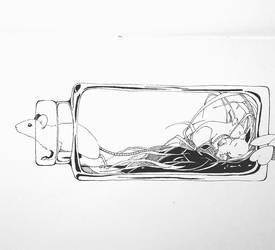 Bottle by blackseagull