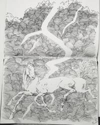 Sleipnir by blackseagull