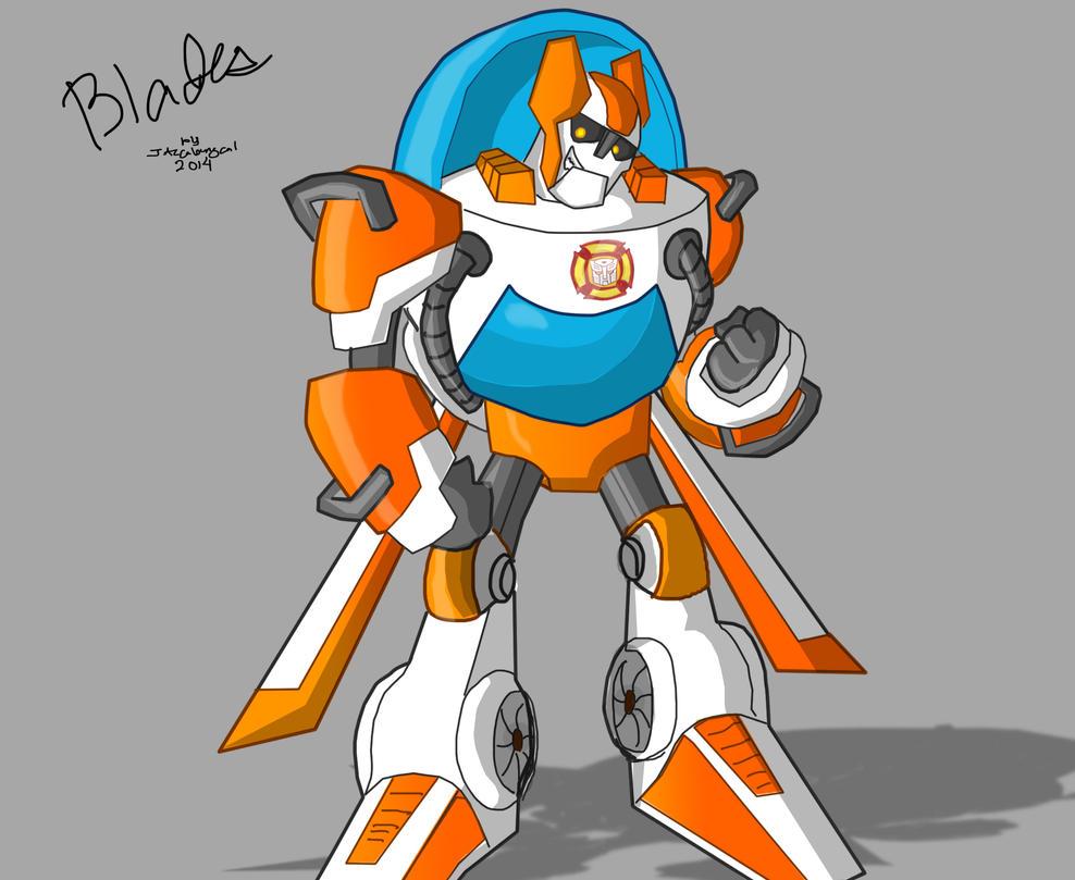 Rescue Bot Blades By Jazcabungcal On Deviantart
