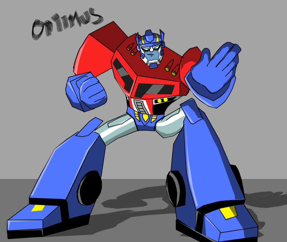 Optimus Says STOP! By JAZcabungcal On DeviantART