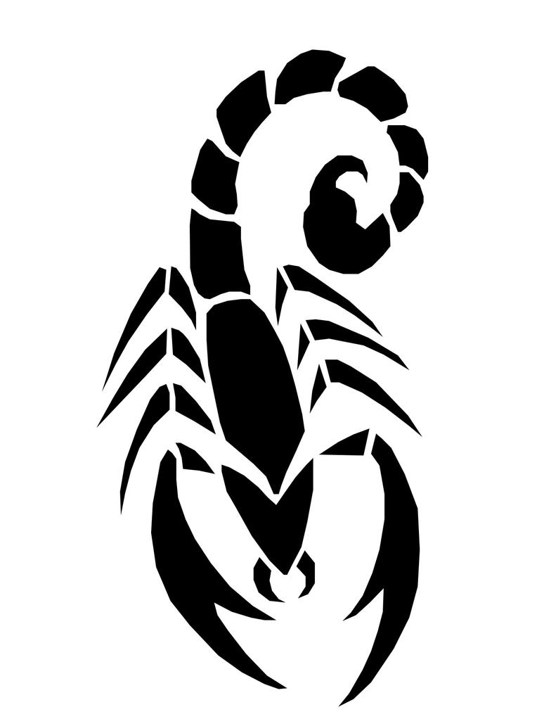 40678 furthermore Scorpion Outline besides Wolf Tribal further 51 besides 2124. on simple scorpion drawing