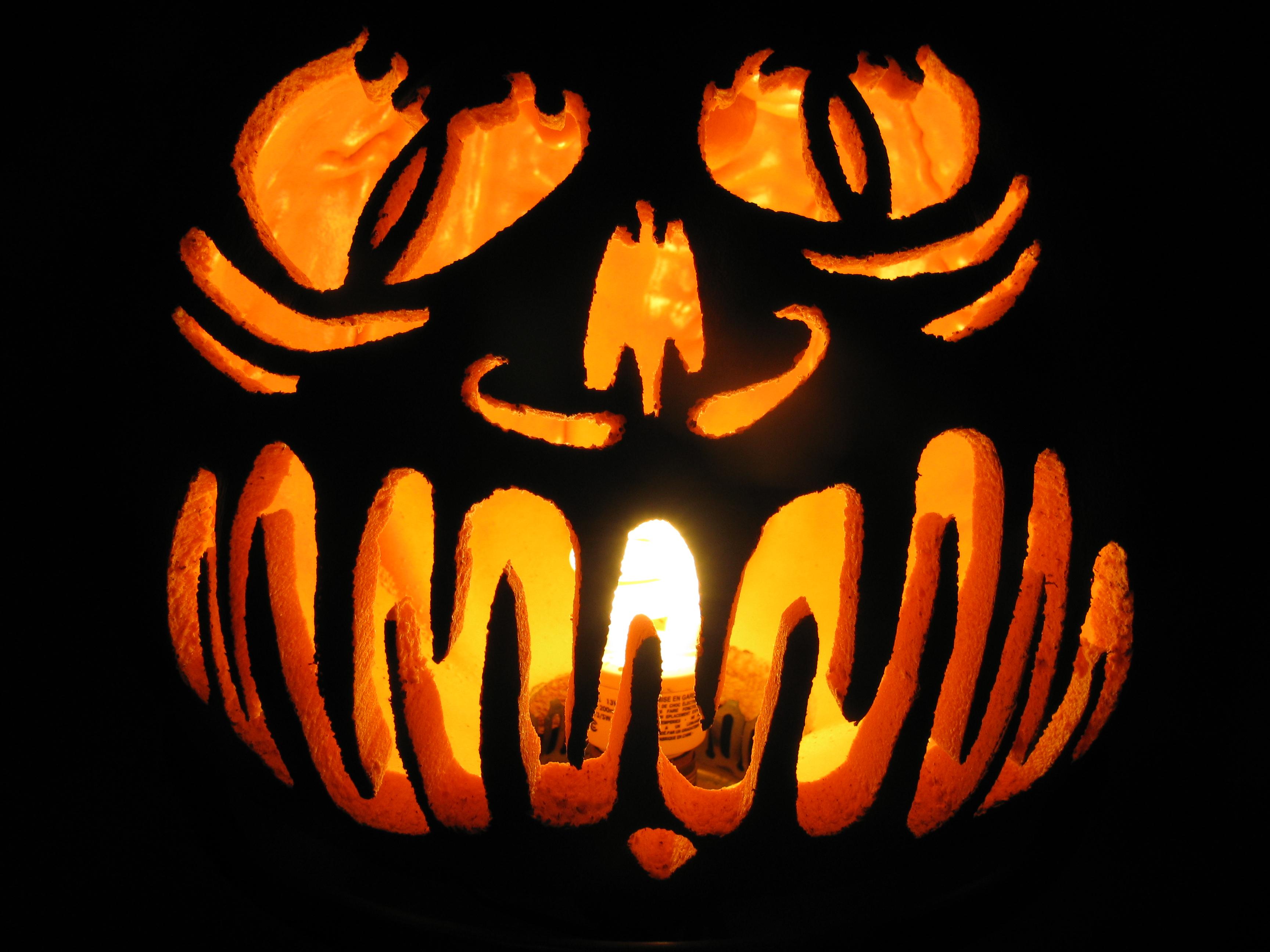 Diablo foam pumpkin by crazy on deviantart
