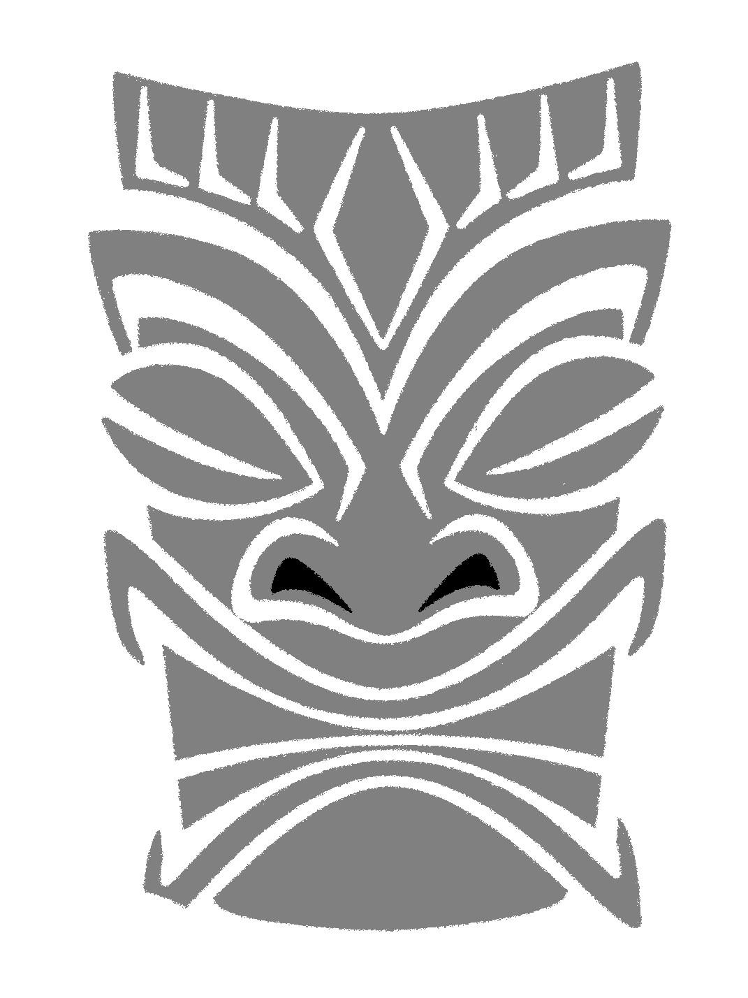 Tiki pattern by pumpkin crazy on deviantart