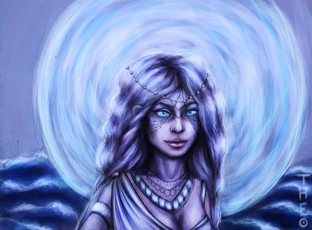 Moon goddess by ManiaMuppet