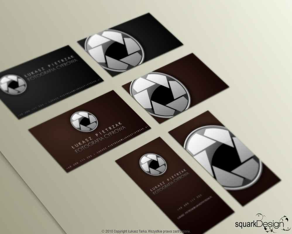Business Card Photographer by lordsquark on DeviantArt