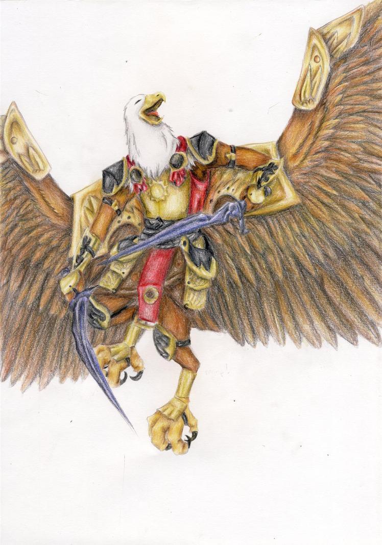 Garuda by ichigoaoi