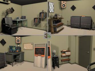 4 Corners Room