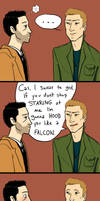 spn - Stop staring, or else... by airagorncharda