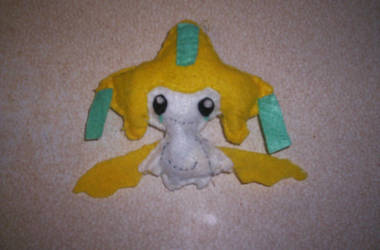 Jirachi Plush by 1Meh1