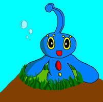 Manaphy Ms paint Pic by 1Meh1