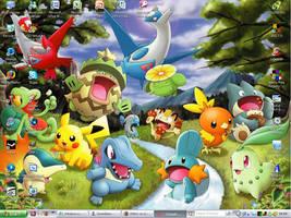 Pokemon Desktop Wallpaper by 1Meh1