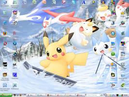 Pokemon Desktop Screenshot by 1Meh1