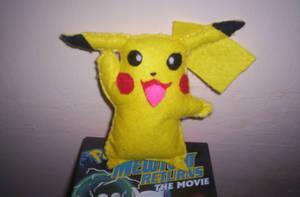 Pikachu Plush by 1Meh1
