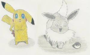 Random Pokemon Sketches by 1Meh1