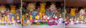 Pokemon Figure collection
