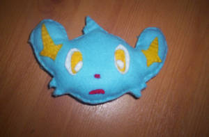 Shinx plush by 1Meh1