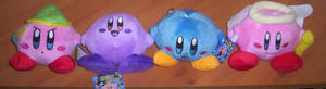 Kirby Plush Collection