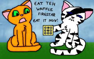 Eat Teh Waffle FireStar by 1Meh1