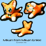 Mikan Plush by 1Meh1