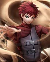 Gaara by ReizDrawing