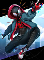 Miles Morales by ReizDrawing
