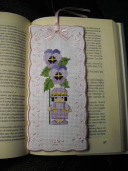 Pansy Bookmark