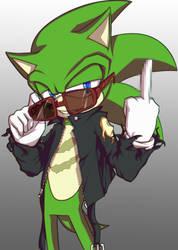 Anti-Sonic by MiranaM