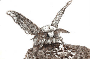 MOTH DOOM by hello-magpie