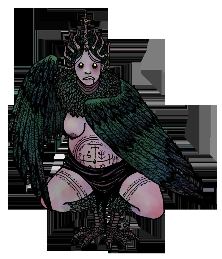 Sigil Harpy by hello-magpie
