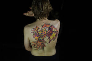 Genzoman Phoenix (Tattoo) HD Version