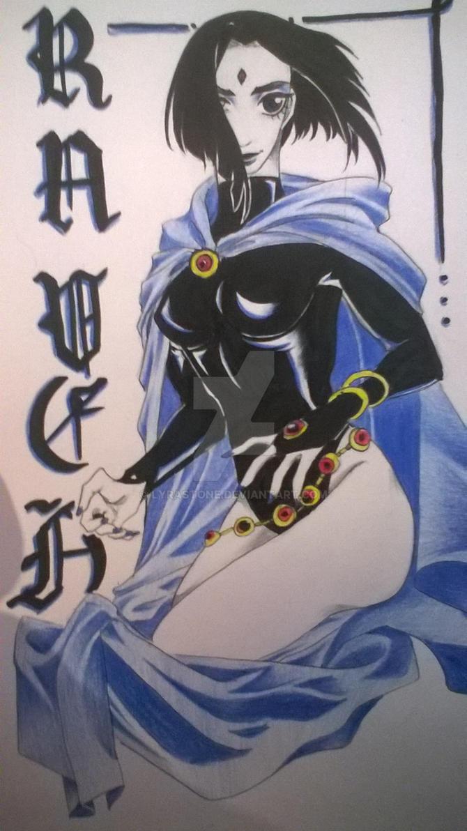 Raven by lyrastone