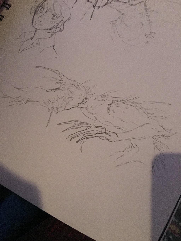 Monster Design 1 by lyrastone