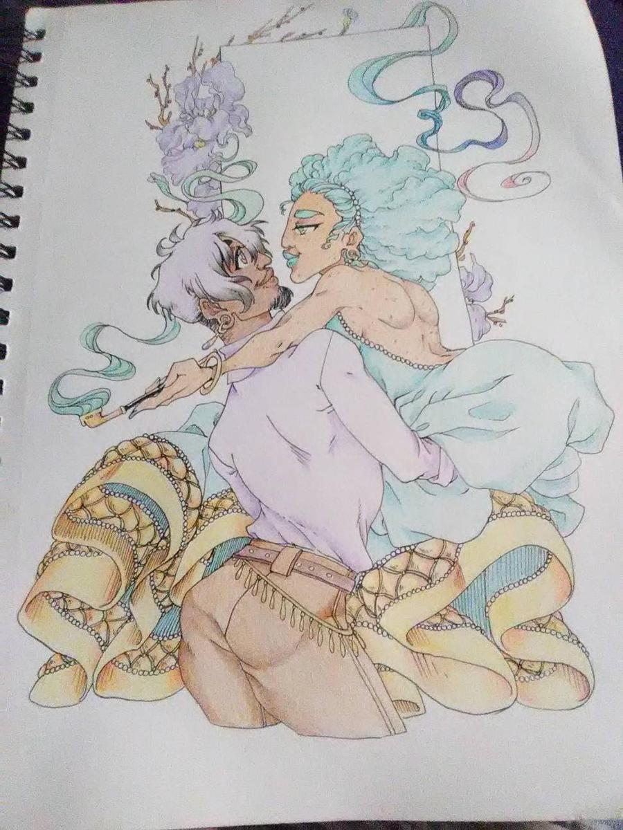 Djorji and Bianca by lyrastone