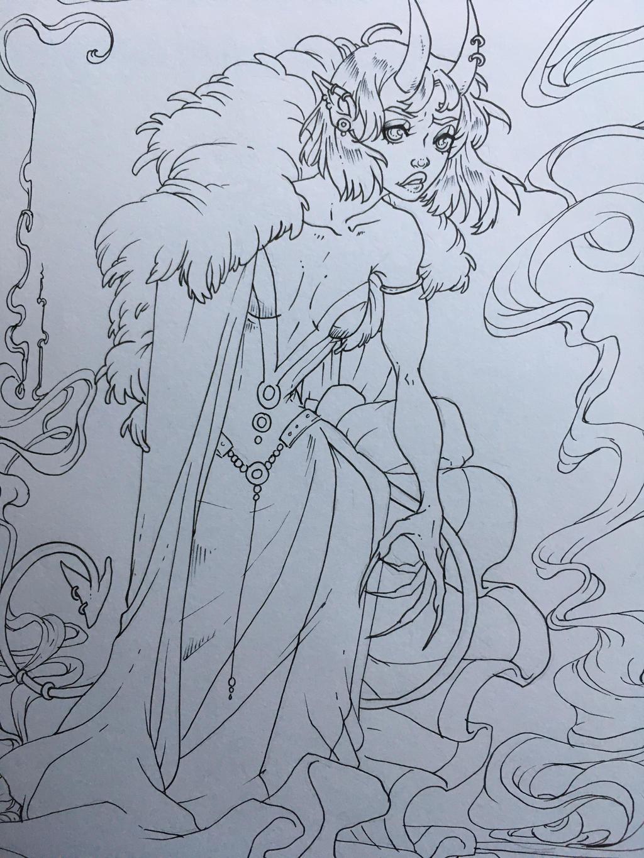 Sketch by lyrastone