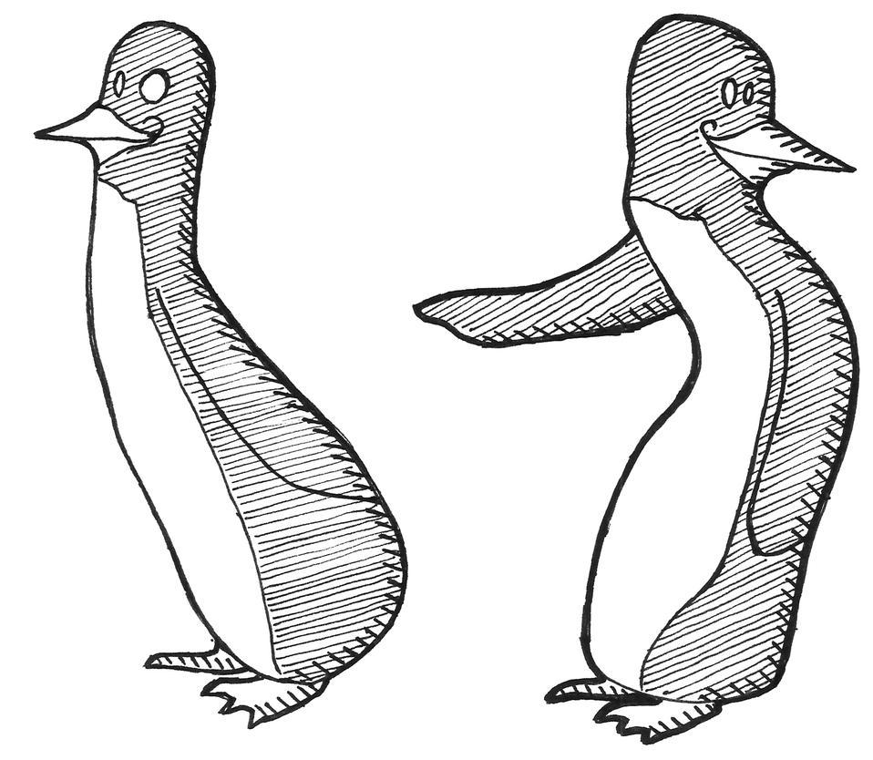 penguine buddies by Akaleon