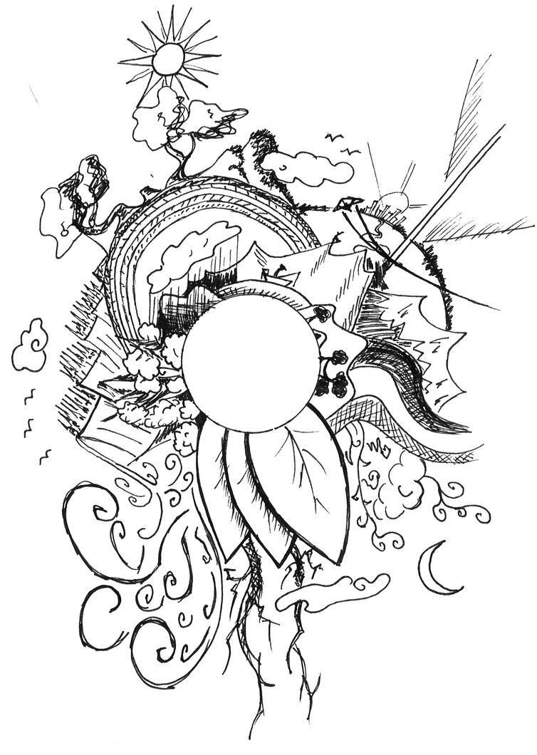 circle world NATURE by Akaleon