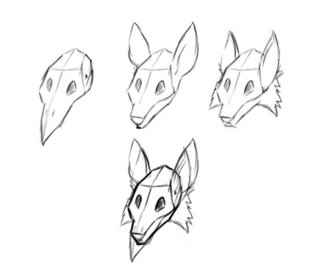 Animal Heads by Akaleon