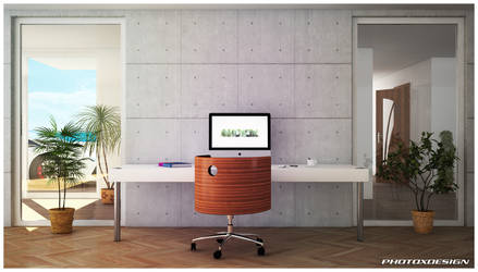 2014 Desk by photoxdesign