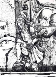 Arietty Clock - The Borrowers