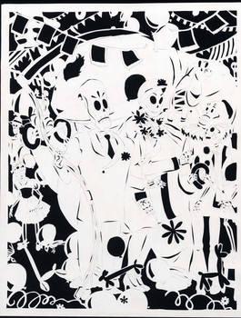 Grim Fandango Papercut