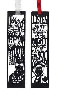 Halloween Papercut Bookmarks: Universal Monsters