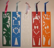 Papercut Sailor Scout Bookmarks