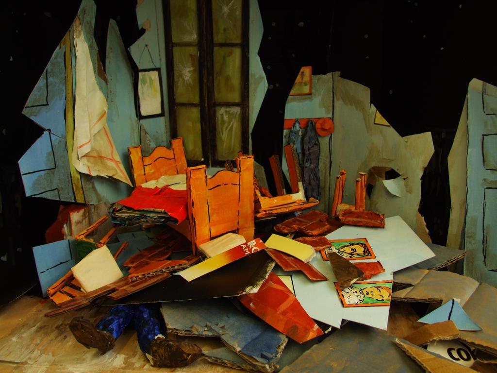 Van Gogh's Bedroom  destroyed