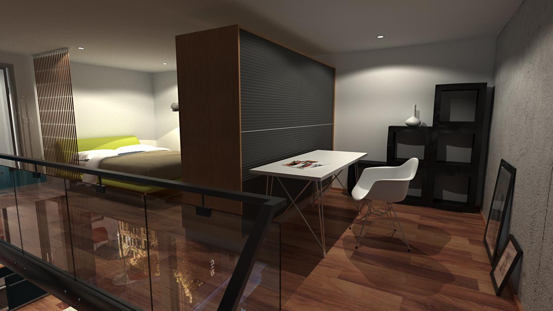 Loft Apartment 5 Hd Night By Richert On Deviantart