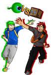 Pokemon Trainers Jack and Mark