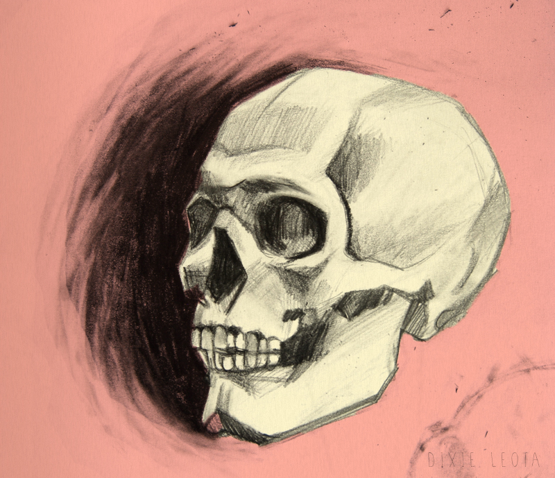 too cool for skull by DixieLeota