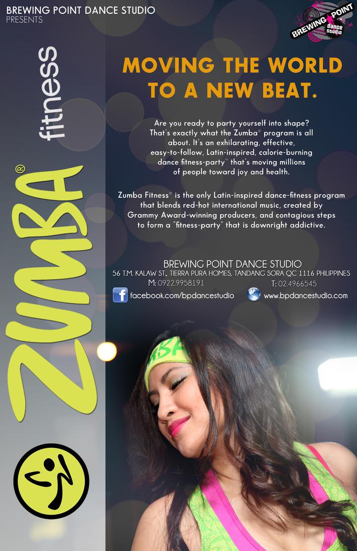 Zumba Fitness Flyer Zumba Fitness Flyer by