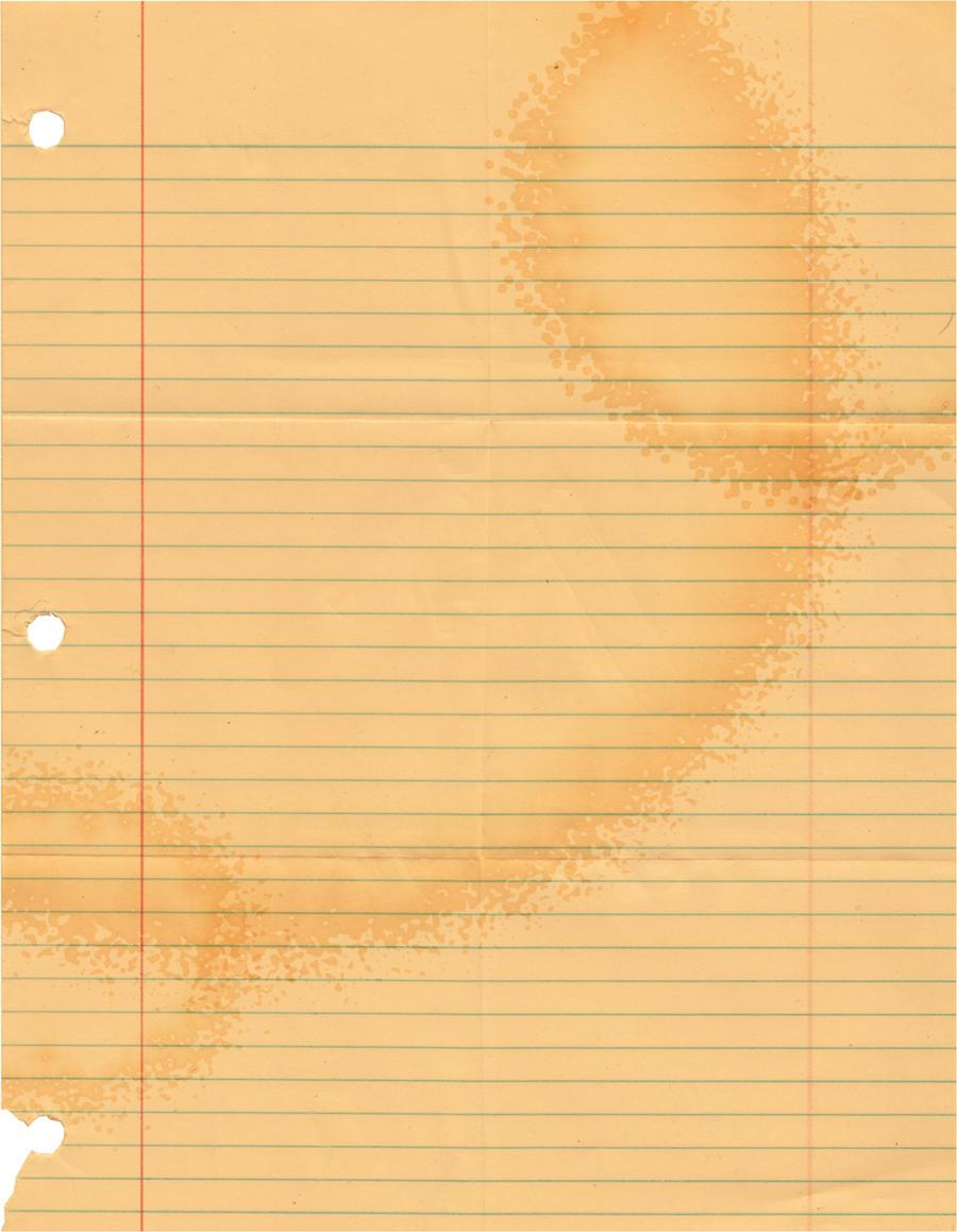 Coffee Stain Texture by xXDarkKeybladeXx