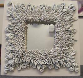 Flower Mirror by Nectarine